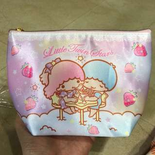 Sanrio Little Twin Stars Pouch cosmetic clutch bag