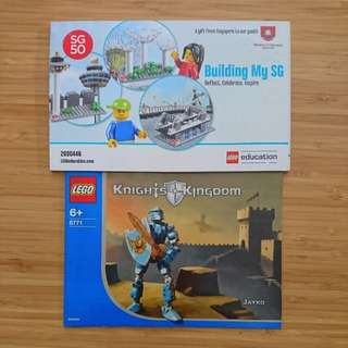 Even more authentic well kept LEGO Instructions