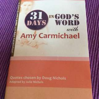 31 Days in God's Words