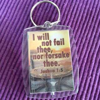 Keychain with Quotes
