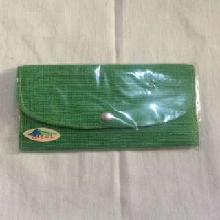 Bohol light green wallet