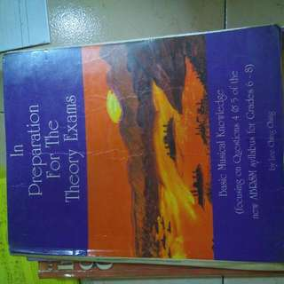 In Preparation for the Theory Exams Grade 6-8 by Lee Ching Ching