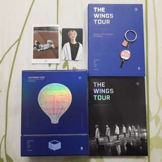 Official BTS Wings Tour Episode III + BTS Army Bomb keychain