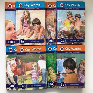 Ladybird Key words with Peter and Jane