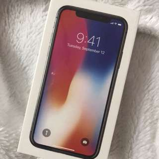 IphoneX Space Gray 64GB