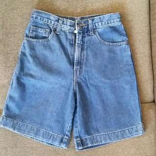 Celan Pendek Jeans Korea