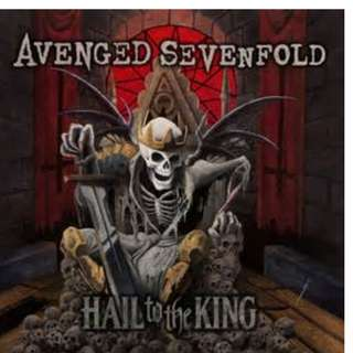 A7X Avenged Sevenfold - Hail To The King Vinyl LP Brand New Sealed.