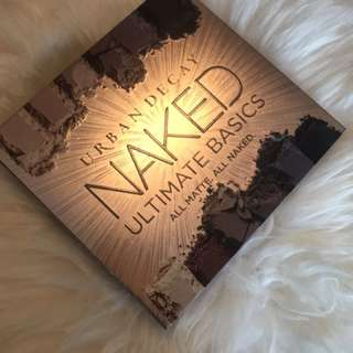 100% New and Authentic Urban Decay Naked Ultimate Basics Eyeshadow