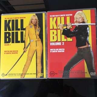 Kill Bill DVD (Original)