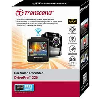 Transcend DrivePro 220 Car Camera