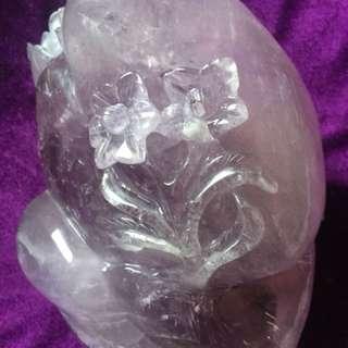 🚚 紫水晶牡丹花花開富貴