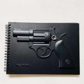 3D Pop Up Cover Notebook