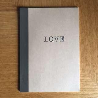Muji Love Notebook