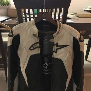 Alpine Tech 1R Leather Jacket