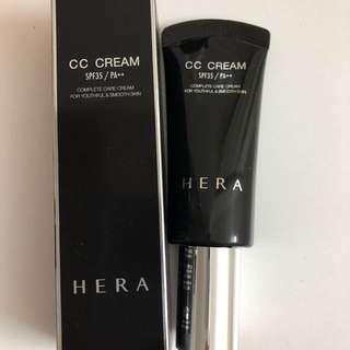 全新 Hera cc cream SPF35/PA+++ 21 色