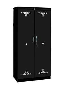 Lemari Pakaian 2 Pintu Apanel LP-7200 Sablon