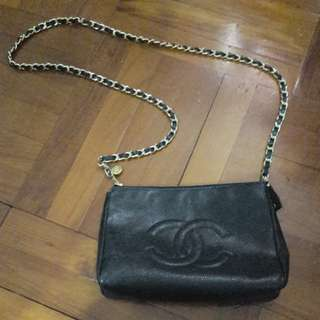 2手 Vintage chanel clutch bag