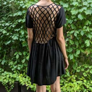 Absence Of Color Criss Cross Back Dress