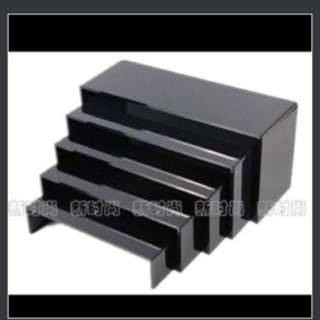 Display Stand, Set Of 5 (tag Lego/Display Box/display case)
