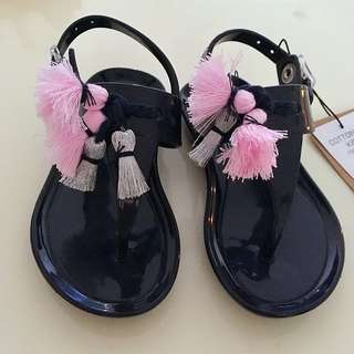 COTTON ON Tassle Jelly Sandals