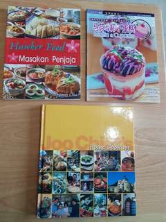 Cooking/Baking books for sale