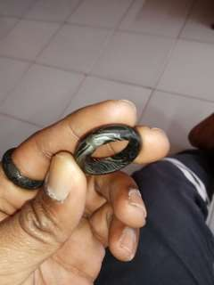 just for sharing cust item cincin pamor besi keris has arrive thanx for the trust