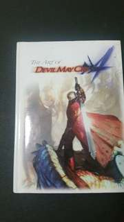 Art of devil may cry 4 book