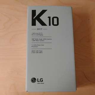 BN LG K10 in Gold