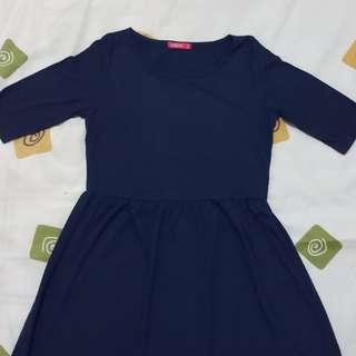 Navy Dress Graphis