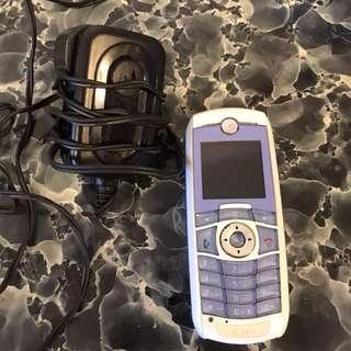 Motorola C381 舊手提電話 (可打電話)