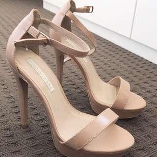 Size 7 Nude Heels