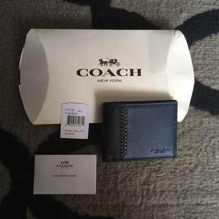 Coach Men Basic Wallet