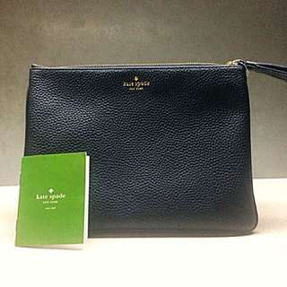 Kate Spade New York Chester Street Gia Clutch / Pouch Black