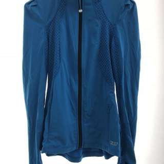 Lorna Jane blue running jacket