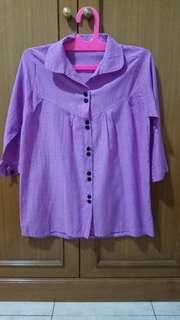 Kemeja ungu