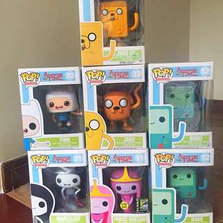 Funko Pop Adventure Time Set #1