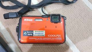 Nikon Coolpix AW100 Water & Shock Proof