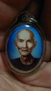 Thai Amulet old ah pek rong si