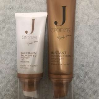 FREE POSTAGE J Bronze tanning products
