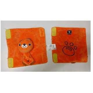 包郵 Banbet 嬰兒 揹帶 BB 車安全帶 防刮面 保護墊 咬咬帶 一對( 小熊) SEAT BELT PALS