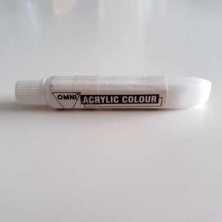 Omni Acrylic Colour Paint (#50 Titanium White)