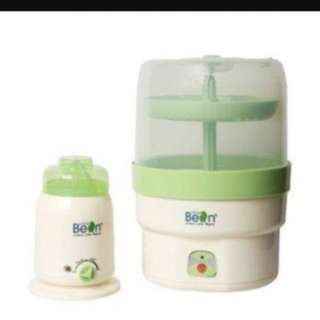 Little bean warmer & steriliser combo