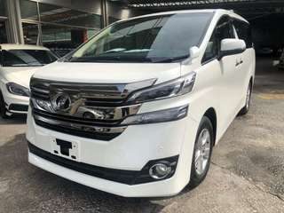 Vellfire 2015 x spec 8 seater local ap,trade in accepted,wasap dee 018 2448757