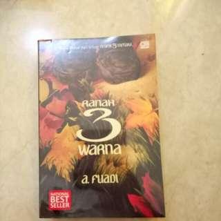 Buku Novel seri :Ranah 3 Warna