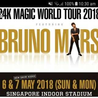 Bruno Mars 24K tour (7 May 2018)