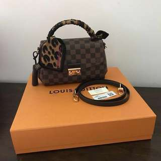LV Croisette Damier Ebene(Authentic)