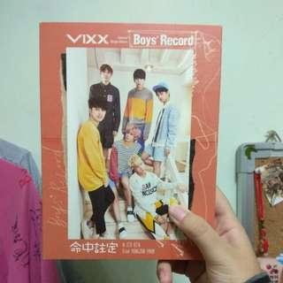 VIXX Boy's Record 台壓版