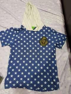 cape bossini kids shirt