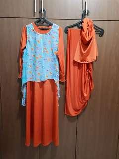 Baju gamis baru sale