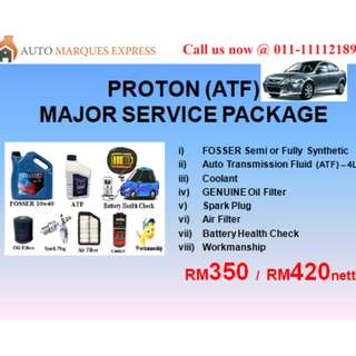 PROTON Major Service Package (ATF)